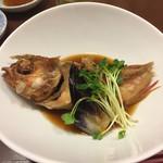 沼津魚がし鮨 - カサゴの煮付け。うんまいよ!