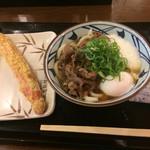 丸亀製麺 - ジャンボカニカマ天は合っていません(//∇//) 天ぷら類は要りません。
