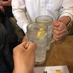 68219430 - 生レモンチューハイで乾杯!