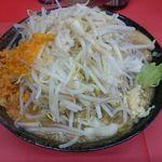 バカみたいに愛してた - 料理写真:野菜極太麺醤油