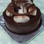 プレヴェール - ヾ(>ω<*)チョコレートケーキ ('11/02/16にて )