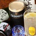 やま屋 - ビール・日本酒・焼酎・・・お酒も多種多様に・・・