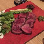 熊本御膳 あざみ - 赤牛ステーキ