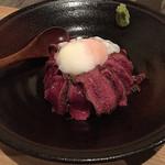 熊本御膳 あざみ - 赤牛ステーキ丼