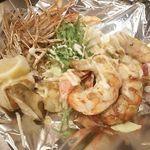 きゅうろく 鉄板焼屋 - プリプリの海老マヨ