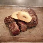 きゅうろく 鉄板焼屋 - 黒毛和牛 イチボステーキ