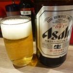 辛麺屋桝元 - 瓶ビール