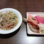 グランブッフェ 盛岡南 - パスタ・お寿司