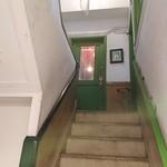 イルベッカフィーコ - 外観  急な階段を上ります