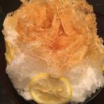 ぎおん 徳屋 - お番茶のかき氷