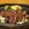 ステーキ鉄板焼 牛臣 - 料理写真:牛サガリ