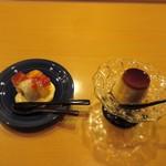 懐石料理 はし本 - スィーツ2種