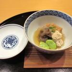 懐石料理 はし本 - お椀、とうば豆腐