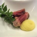 懐石料理 はし本 - 鴨の炊きもの