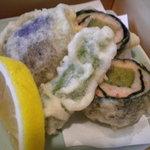 かいせき工房 ききょう - 牡蠣と海老しんじょの揚げ物
