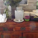 サザンビーチカフェ - お水はコチラで