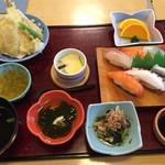 いけす料理磯太郎 - 寿司御膳=1300円 税別
