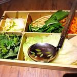 しゃぶしゃぶ温野菜 - 野菜もお代わり自由