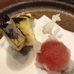 天仁 - 小ナスにミニトマト