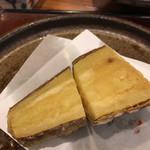 天仁 - サツマイモ、時間を掛けてユックリ火を通してある。甘さが増してとても美味しくなった