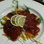 toukyoukoshitsunikubarukokona - 馬肉のカルパッチョ