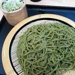 68234701 - 狭山茶そば¥470+大盛¥100
