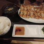 68235310 - ランチの餃子定食