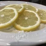 スペインバル ピー - レモン砂糖!