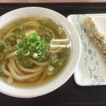 さぬき麺児 - ひやかけ小&ちく天