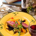 bistro & cafe La ChouChou - 牛モモ肉のロースト マルサラソース