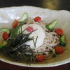 十割蕎麦 温川 - 料理写真:ひやし山かけそば