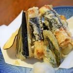 大島すし - ちくわのチーズ天