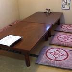 大島すし - こんな感じの個室がいくつかあります