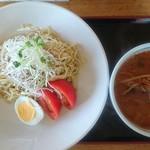 たんたん亭 - たんたんつけ麺(麺は1.5倍)