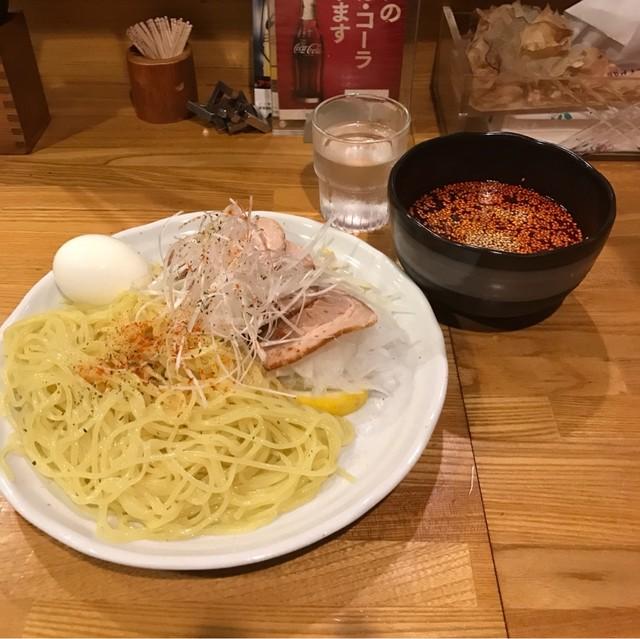 とんがらし 池袋店 - 広島流つけ麺。 税込780円。 旨し。