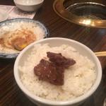 げんかや - 白飯とお肉