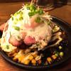 PINE - 料理写真:贅沢にベーコンと卵のせで 1,300円ランチ