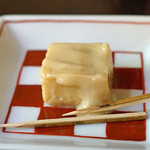 手打ち蕎麦 かね井 - 豆腐よう