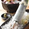 まる福 - 料理写真:イカの姿づくりは新鮮そのもの