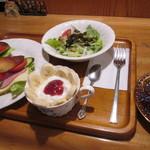 どっぽ - 料理写真:ミックスサンドセット、ブレンドコーヒー