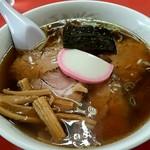 あらき - 料理写真:チャーシュー麺750円‼昔ながらの醤油味❗