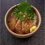 【おすすめ】エビスの選べる海鮮丼 (ごまぶり)