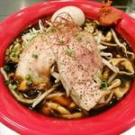 麺創研 紅 BLACK - 味玉、辛みそ付き!