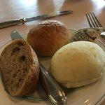 レストラン ミネルバ - ランチのパン