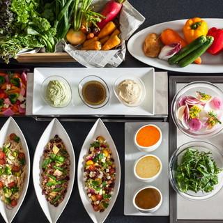 彩り鮮やかな無農薬野菜
