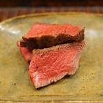 竹屋町 三多 - 丹波牛のヒレ肉