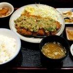 ちとせ - 料理写真:みぞれかつ定食 900円