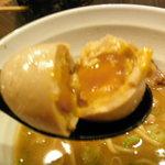 麺屋 ジゴロ - 味付け玉子