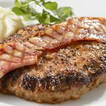 ステーキダイニング アイリス - にいがた和牛ハンバーグ