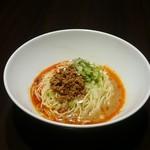 おどるタンタン麺 - 汁無し担々麺(赤:醤油ベース)
